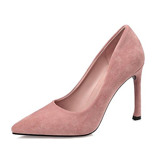 E 37 EU FLYRCX Mode européenne a souligné Talons Aiguilles Sexy Chaussures Simples Les Les dames Chaussures de Travail de Bureau