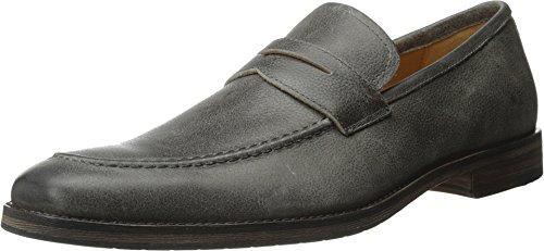 Ron White - Aiden Mens Loafer Slate Antique Pebble Calf khuk9bf