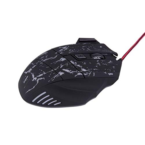 1pc 5500 DPI Mouse Game 7 LED Buttons Wired USB Optical Gameing Mice for Pro Gamer for PC Laptop Games