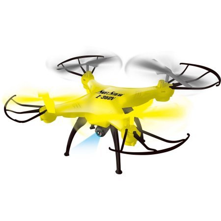 swift-stream-z-36cv-24ghz-5-channel-rc-drone-with-camera-and-2gb-memory-card-yellow