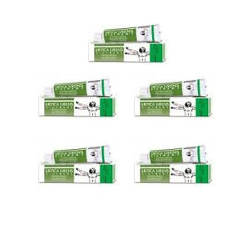 5 Pack - Bakson's Homeopathy - Urtica Urens Ointment Urticaria. (Treatment Urticaria)