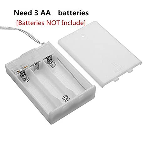 150cm/ DC4.5/V Classe /énerg/étique A++ GLISTENY Flexible tuyau /étanche IP65 batterie lumineux d/écoratifs D/écoration de No/ël Bandes LED Barre de bande RGB 5050 SMD de lumi/ère Batterie Box