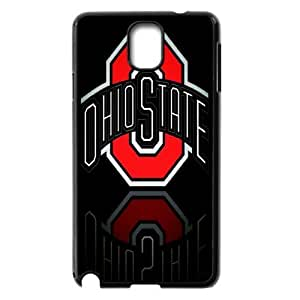 NCAA Ohio State Buckeyes Print Black Case With Hard Shell Cover for Samsung Galaxy Note 3