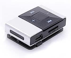 Zmond -HiFi Portable Mirror Mini USB Digital Mp3 Music Player Support 16GB SD TF Card Fashion[ White ]
