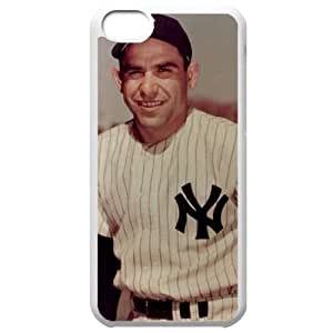 MLB Iphone 5C White New York Yankees cell phone cases&Gift Holiday&Christmas Gifts NBGH6C9125720