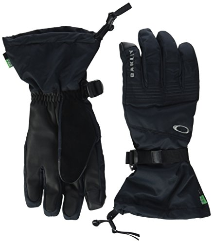 - Oakley Roundhouse OTC Gloves, Blackout, Large