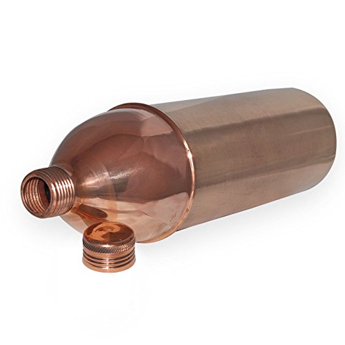 Dungri India Solid Copper Water Bottle For Ayurvedic Health benefits,Set of 4