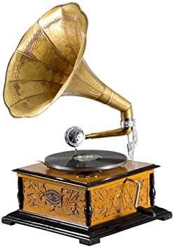 Crespo Decoración Gramáfono con Trompeta G17222: Amazon.es: Hogar