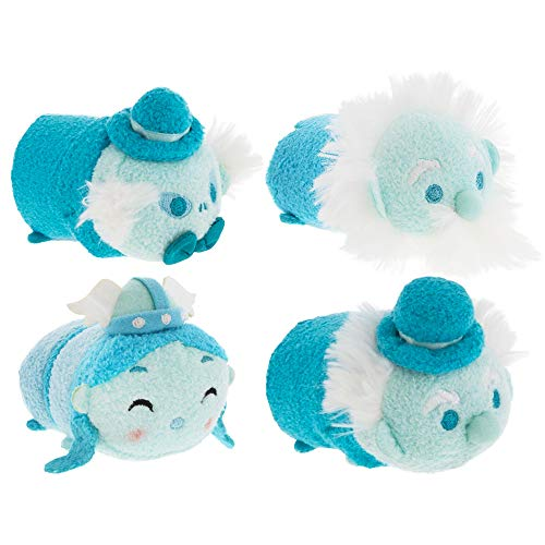 Disney Villains Party Favors Pack -- Set of 4 Haunted Mansion Tsum Tsum Plush Toys (Party Supplies) ()
