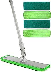 Aluminum Alloy Microfiber Mop - Includes...