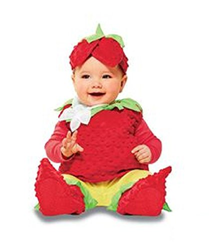 INFANT PLUSH STRAWBERRY COSTUME 6-12 (Target Baby Costumes)