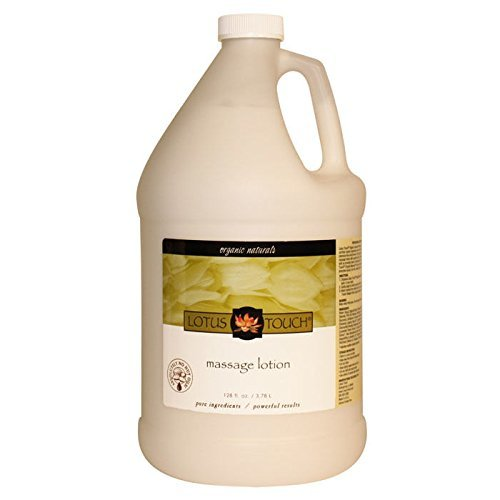 (Lotus Touch Organic Naturals Massage Lotion 1/2 Gallon)