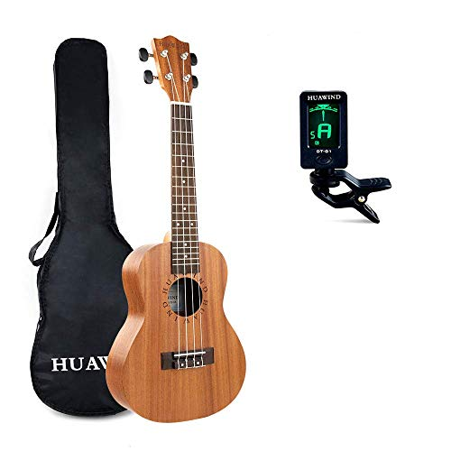 Concert Ukulele Mahogany 23 inch Starter Kit for Beginner Ukelele Uke Hawaiian Ukulele Small Guitar for Kids Adults Beginners Students Children