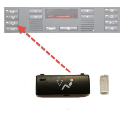 Partie Interrupteur Bouton de commande pour 5 E39 X5 E53 climat Bas Pied d'aé ration C-P Zubehör