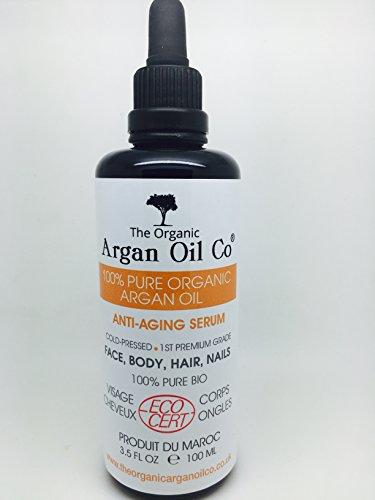 Bio- Arganöl , naturbelassen - Haaröl , Gesichtsöl , Körperöl , rasieren Öl -100ml- Bio zertifiziert ECOCERT - 100% reine extra natives kaltgepresstes Öl . Bio- Öl für Haaröl für Körper Anlage . Einführungspreis!