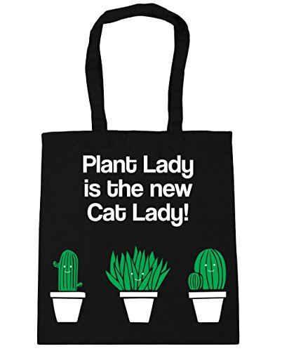 litres Shopping Gym HippoWarehouse x38cm Black 10 Beach Cat 42cm Tote Plant is New Lady Bag The Lady 1ngSZzwq8n