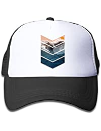 0bd74ac6571 Sunrise Surfer Youth Adjustable Mesh Hats Baseball Trucker Cap for Boys and  Girls