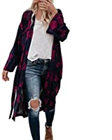 UONQD Women faded long casual hood dress collarless flannel price purple  burgundy maroon shirt yellow denim 92be2f32d