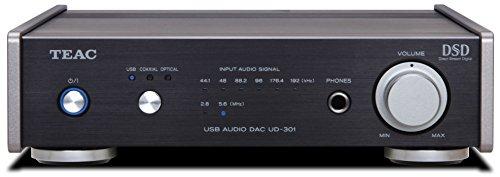 Teac UD-301-BK Dual Monaural Digital-to-Analog Converter wit