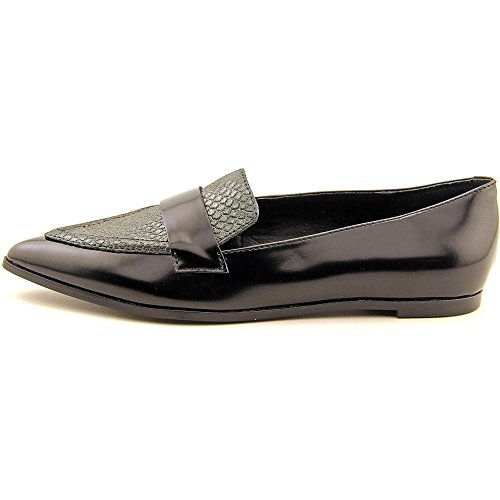 Leather Multi Womens Ivanka Black Pointed Toe Zessio Leather Trump Loafers qt8p8xfSw