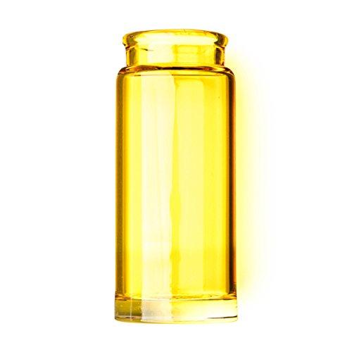 Dunlop 277YEL Blues Bottle Slide, Yellow, Regular Wall Thickness, Medium ()