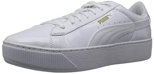 Puma WoMen Vikky Patent Platform Puma White-puma White