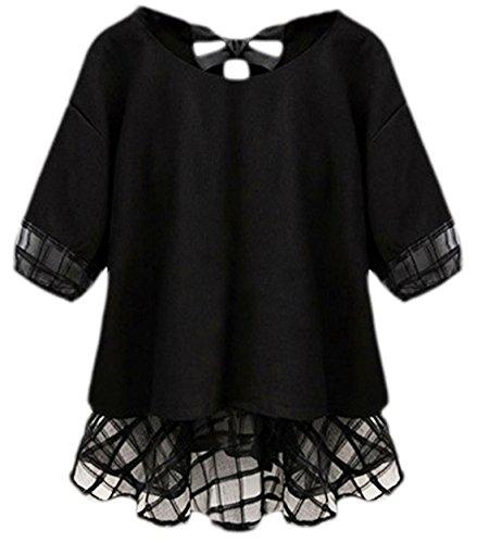 erdbeerloft - Camisas - Opaco - para mujer negro