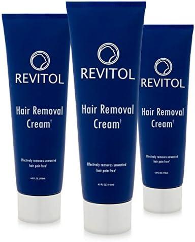 Amazon Com Revitol Hair Removal Cream 2 4 Ounce Bottles