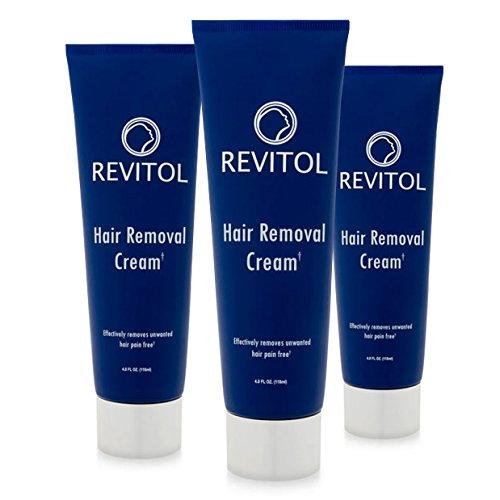 Revitol Hair Removal Cream 2 4 Ounce Bottles Buy Online In