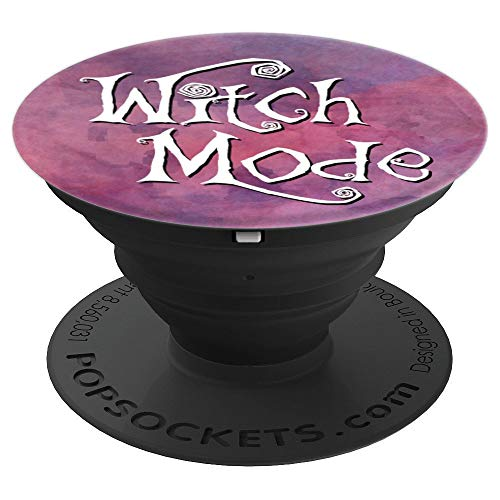 Witch Mode Halloween Smoky Purple - PopSockets Grip and Stand for Phones and Tablets