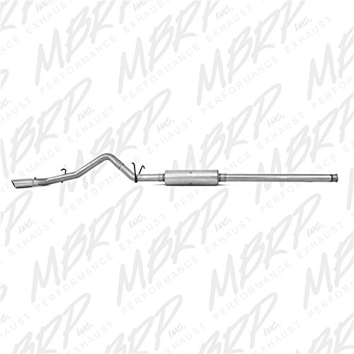 MBRP S5080AL 3'' Cat Back, Single Side Exit Exhaust System (Aluminized Steel) by MBRP (Image #2)