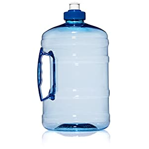 Sports Water Jug With Sports Cap 64 OZ Reusable Water Bottle BPA Free Very Durable and Strong Large Best Water Bottle For Gym Sports Hiking and Just Daily Use