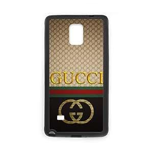 Gucci X6X9Mk Funda Samsung Galaxy Note 4 caja del teléfono celular Negro Funda de protección Funda Q6W2SD caja del teléfono personalizada