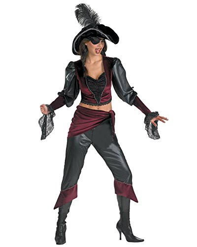 Buccaneer Beauty Womens Pirate Costume Sizes: One Size ()