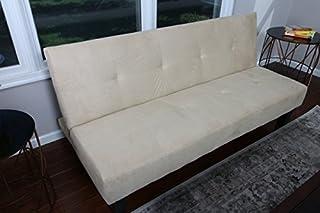 Admirable Home Life Beige Microfiber With Adjustable Back Klik Klak Bralicious Painted Fabric Chair Ideas Braliciousco