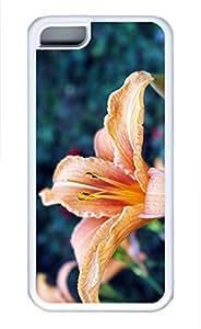 iPhone 5c case, Cute Beautiful Lily iPhone 5c Cover, iPhone 5c Cases, Soft Whtie iPhone 5c Covers