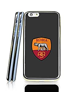 As Roma.Fc Iphone 6 (4.7 Inch) Funda Case, Pop Art Popular Scratch-Proof 2 In 1 Protection With Tpu Back Cover Perfect Fit Iphone 6 / 6s (4.7 Inch) (Golden Border)