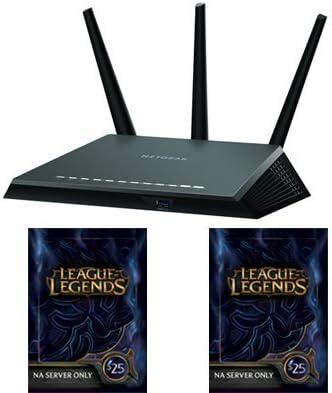 NETGEAR Nighthawk AC1900 Dual Band WiFi Gigabit Router R7000