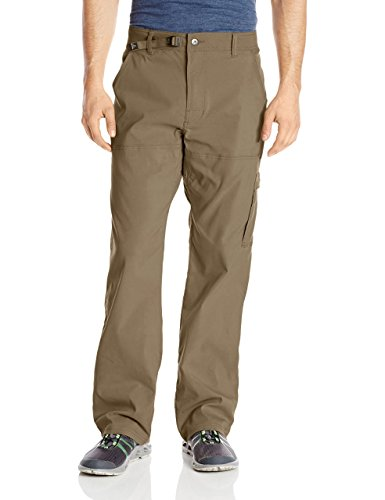 "prAna Men's Stretch Zion 30"" Inseam Pants, Mud, Size 32"