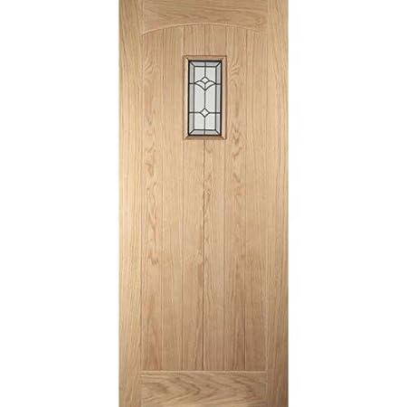 Jeldwen Croft Triple Glazed Oak Veneer Exterior Door Amazon