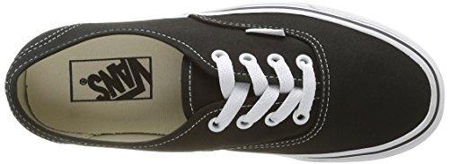 black Vans Noir Baskets black Adulte U Authentic Mode Mixte x44w0FHq