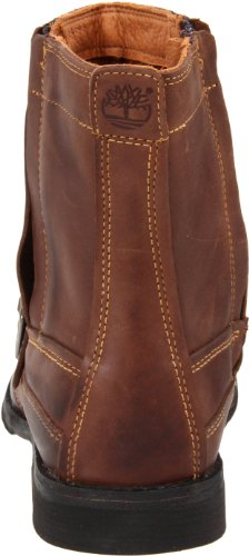 Timberland EKCITY SIDZP BT BROWN FG 73183 - Botas de cuero para hombre Marrón (Braun/Burnished Brown Full Grain)