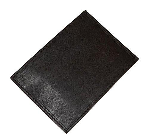 Schöne praktische Leder Braunes Leder-Portemonnaie für Herren PT018 T. Moro