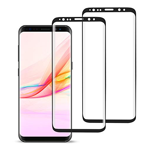[2 Pack] MSLAN Galaxy Note 8 Screen Protector,3D Curved Tempered [Anti-Bubble][9H Hardness][HD...