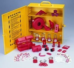 Ideal Industries, Inc. 44-975 Lockout/Tagout Industrial Station by Ideal Industries