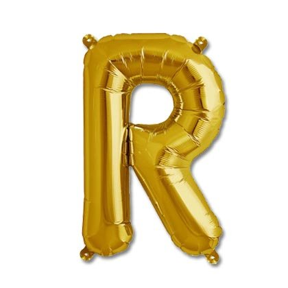 Balloon Arts, R Alphabet Balloon for Party Decoration Size 16 inch with Golden Color 1 Pcs. (B07BS9LQ11) Amazon Price History, Amazon Price Tracker