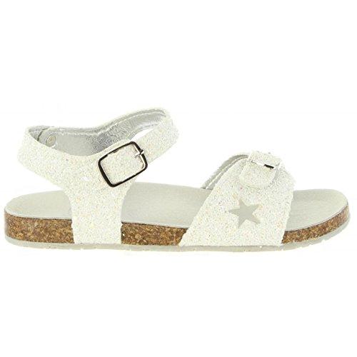 Sandalen für Mädchen Lulu LT050054S Caterina White 0061 Weiß