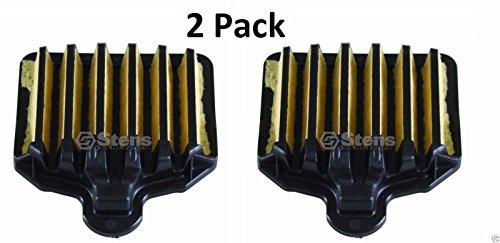Poulan Air Filter - 2 Pack Stens 605-390 Air Filter for Poulan 575296301 PP5020AV