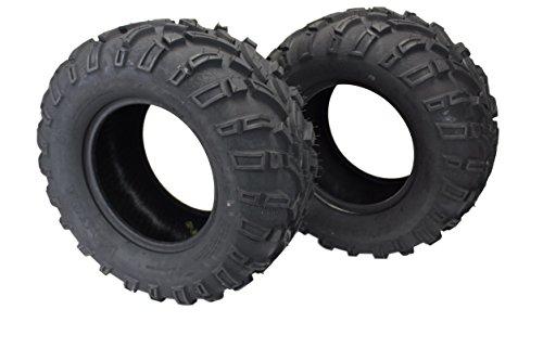 (Set of 2) 25x11.00-12 ATV/UTV Tires 6 Ply Premium Compound for cheap