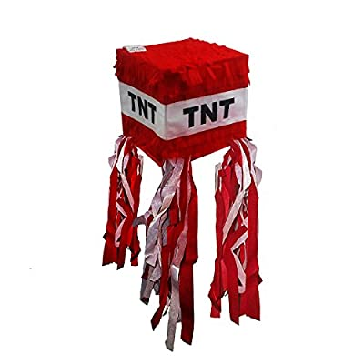 Pinatas TNT Pinata for Minecraft Party, Red